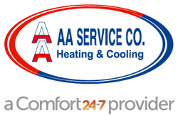 AA Service Heating and Cooling logo