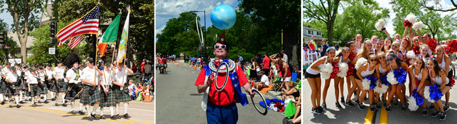 Website Photo - 4th of July Parade Collage